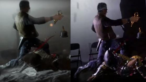 À gauche la version originale, à droite la version switch - Millenium