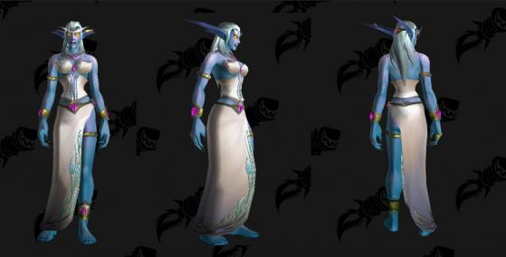 Visuel des émissaires d'Azshara - World of Warcraft