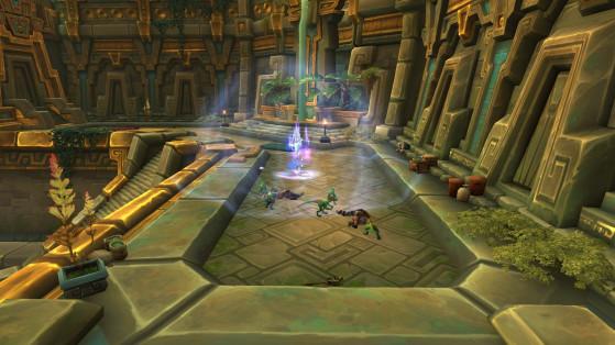 La zone du Décret de la Reine : Retour de flammes - World of Warcraft