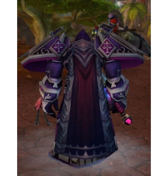 Apparence de la Cape des Ombres sur World of Warcraft - Hearthstone