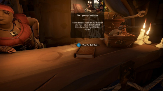 Soluce Sea of Thieves : Tall Tales, Conteuse de Légendes