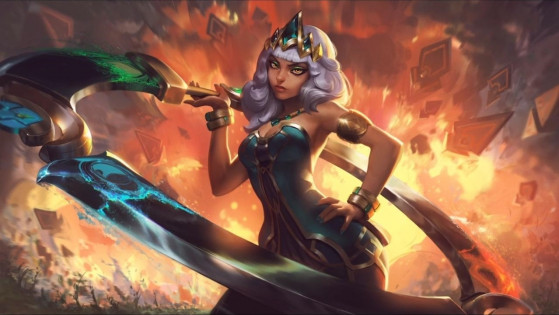 Splashart de Qiyana - League of Legends