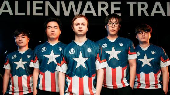 LoL : Team Liquid en partenariat avec Marvel Avengers