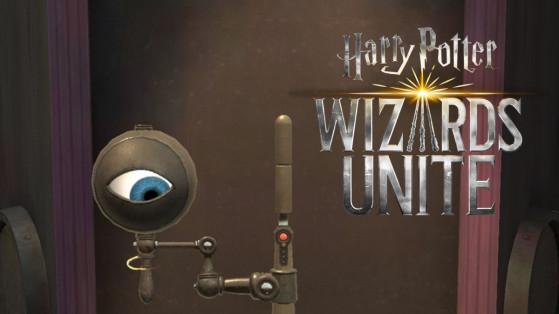 Harry Potter Wizards Unite : détecteur de magie noire