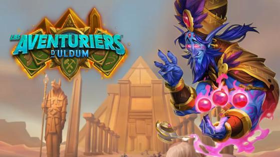 Hearthstone Aventuriers d'Uldum : hotfix Zephrys le Grand