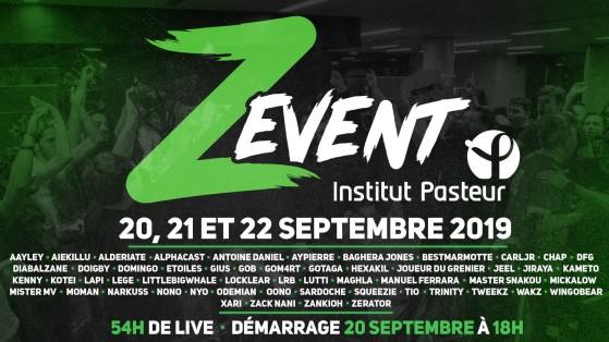 Z Event 2019 : infos, dates et streamers tout savoir sur l'event de Zerator
