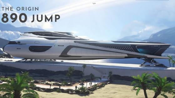 Star Citizen : Le 890 Jump est prêté au subscribers Imperator