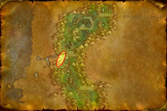 Localisation des Légionnaires de Jaedenar - WoW : Classic