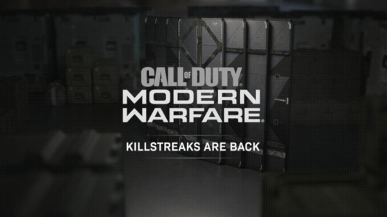 Call of Duty Modern Warfare : Guide des killstreaks et série d'éliminations
