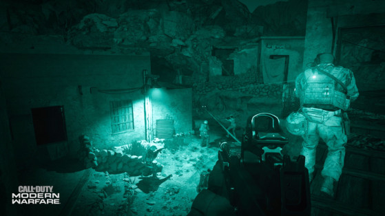 Call of Duty Modern Warfare : mode multijoueur, carte vision nocturne