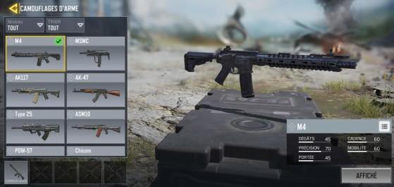 Camouflage arme - Millenium