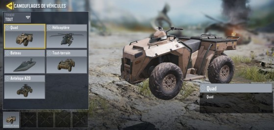 Camouflage véhicule - Millenium