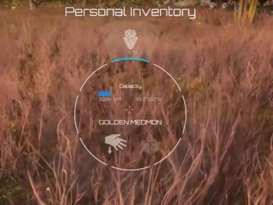 Utilisation de l'inventaire personnel lors de la récolte - Star Citizen