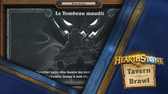 Bras de fer Hearthstone : Tombeau maudit, 1ère partie