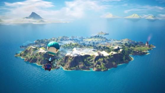 Fortnite : nouvelle carte Chapitre 2 saison 1