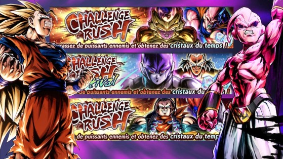 Dragon Ball Legends : triple Challenge Rush, octobre 2019
