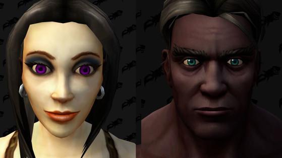WoW : Options de personnalisation de personnage, Races