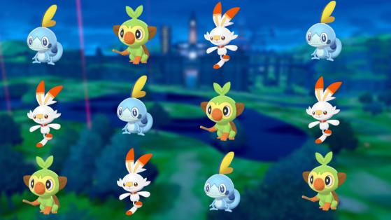 Pokemon Epee, Bouclier : starters et évolutions de Flambino, Larméléon et Ouistempo
