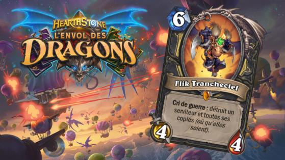 Hearthstone Envol des Dragons : nouveau serviteur légendaire Voleur Flik Trancheciel