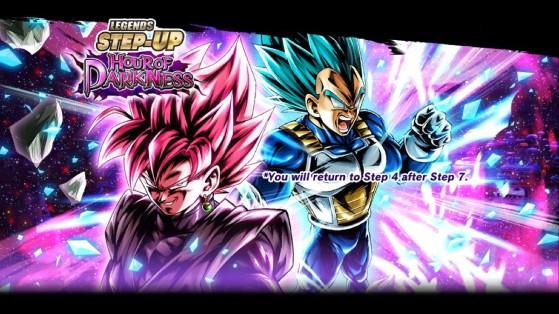 Dragon Ball Legends : événement Goku Black Rosé & Végéta Ssj Blue Legendary Finish