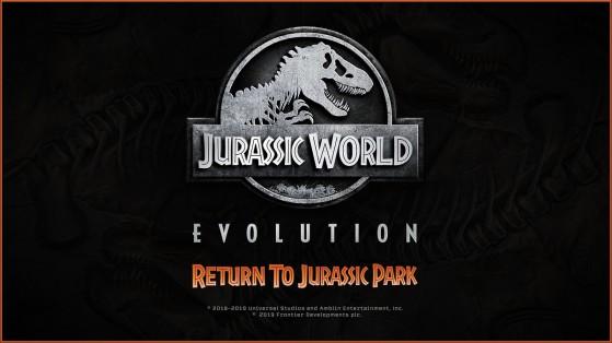 Preview DLC Jurassic World Evolution : Retour à Jurassic Park