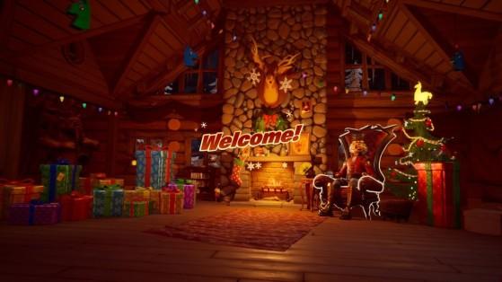 Fortnite : leak du lobby de Noël et des cadeaux quotidiens, Fête hivernale 2019