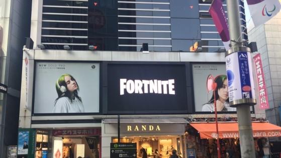 Fortnite : des posters géants aperçus dans plusieurs grandes villes du monde
