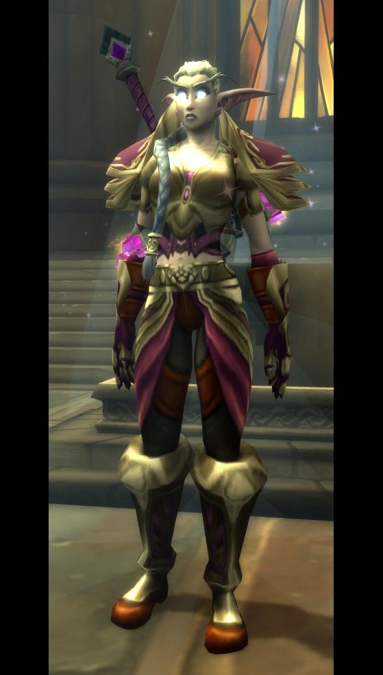 Delas Croc-de-Lune paladin (Legion) - World of Warcraft
