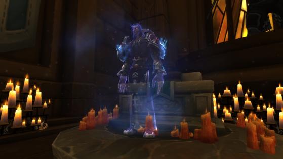 Nerus Croc-de-Lune à la Chappelle de l'Espoir de la Lumière - World of Warcraft