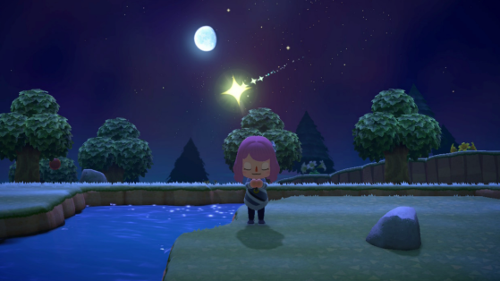 Animal Crossing New Horizons : étoiles filantes, comment obtenir des fragments d'étoiles ?