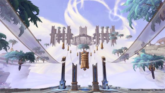 WoW : Bastion, Zone Shadowlands