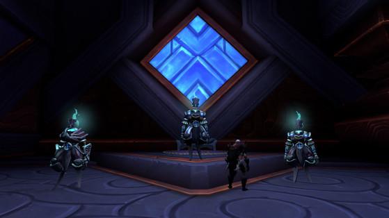 De gauche à droite : Zo'kuul, Zo'sorg et Zo'dash - World of Warcraft