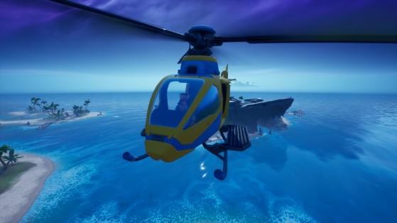 Fortnite : Atterrir au Requin et visiter l'Agence en une seule partie, défi Aventure de Skye