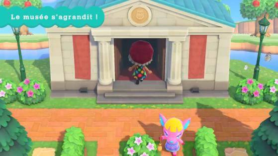 Animal Crossing New Horizons : Comment agrandir le Musée et obtenir la Galerie d'Art ?