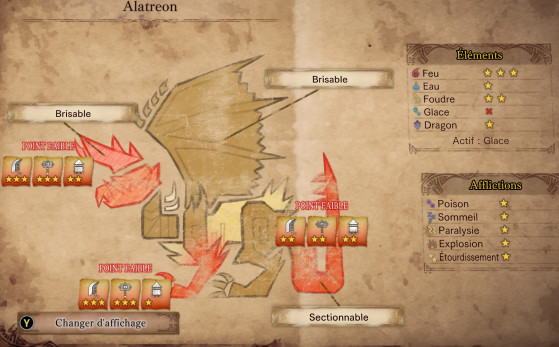 Glace - Monster Hunter World