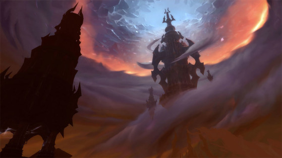 WoW : L'Antre, The Maw, Zone Shadowlands
