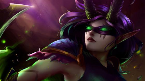 WoW Shadowlands : Bonus légendaires du Chasseur de démons, objets légendaires