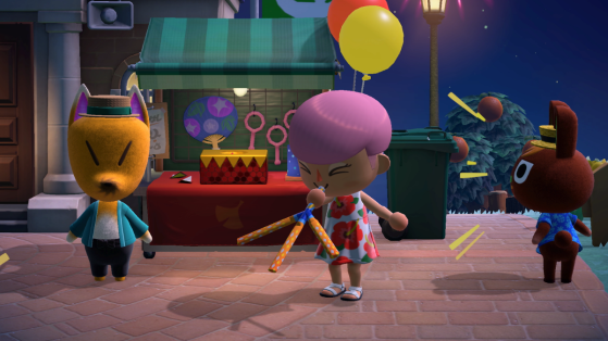Animal Crossing New Horizons : Tombola de Rounard, liste des prix