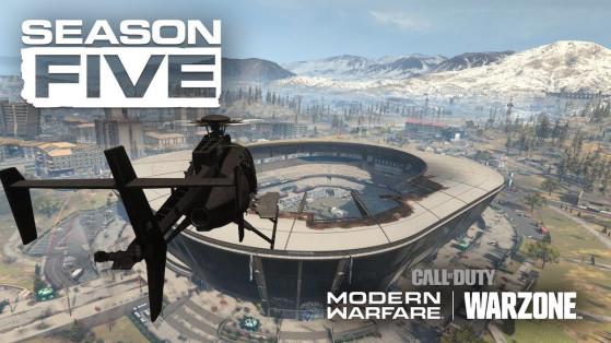Modern Warfare Warzone : mise à jour de la saison 5, patch note 1.24 PS4, Xbox One et PC