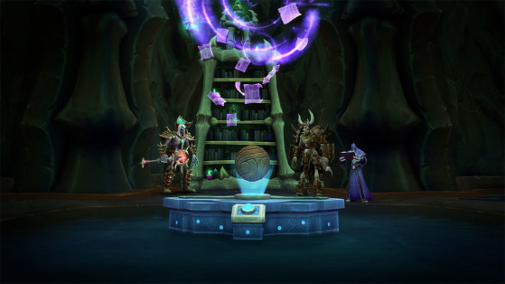 WoW Shadowlands : Aventures, Table de missions