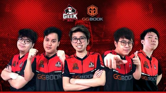 Geek Fam libère toute son équipe DotA 2