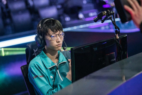 Nuguri lors d'un match de la LCK. Crédit Photo : Riot Korea - League of Legends