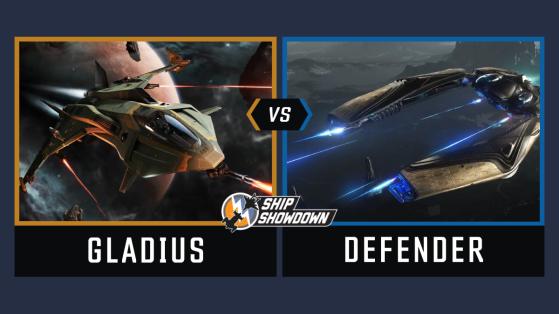 Star Citizen : Ship Showdown 2020 - Gladius vs Defender