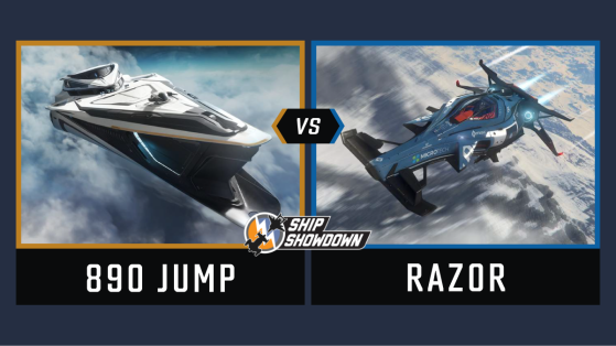 Star Citizen : Ship Showdown 2020 - 890 Jump vs Razor