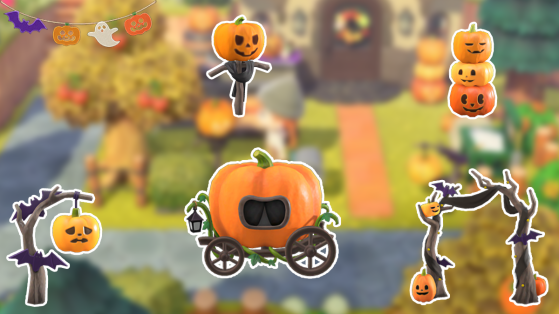 Animal Crossing New Horizons : Liste des meubles Halloween