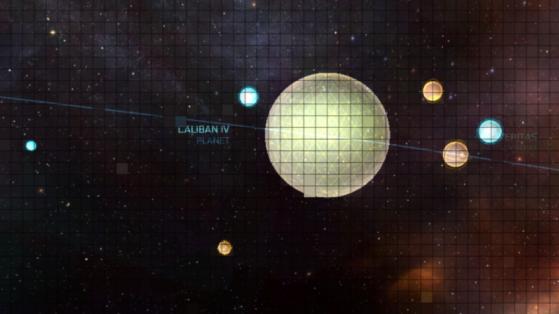 La station s'appelle Yogi dans la Starmap (en incohérence avec le lore) - Star Citizen