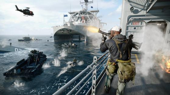 Mise à jour de l'alpha à la bêta de Call of Duty Cold War