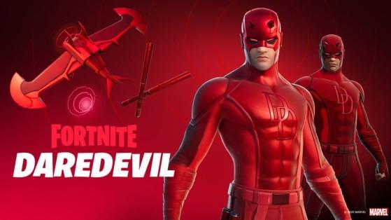 Fortnite : le skin Daredevil dans la boutique du 18 octobre 2020