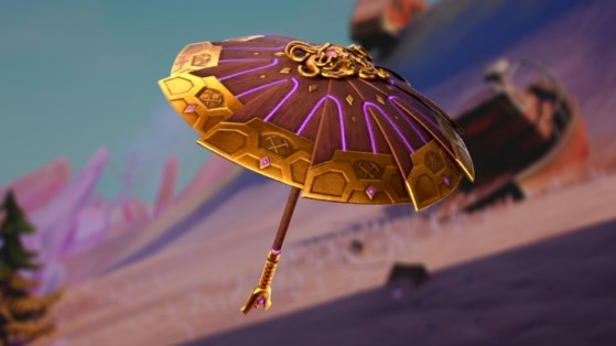 Fortnite : parapluie top 1 saison 5 chapitre 2, Point Zéro