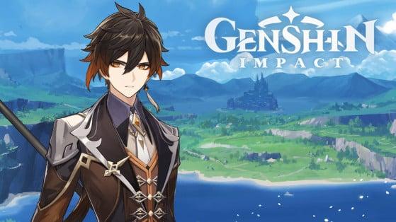 Genshin Impact : build Zhongli, armes et sets d'artefacts